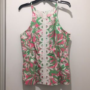 Lilly Pulitzer cotton top